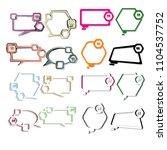 modern creative quotation box...   Shutterstock .eps vector #1104537752
