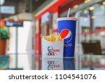bangkok  thailand april 9  ...   Shutterstock . vector #1104541076