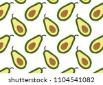 fruit pattern. a pattern with... | Shutterstock .eps vector #1104541082