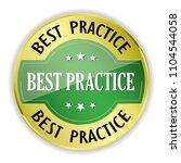 green best practice badge with...   Shutterstock .eps vector #1104544058