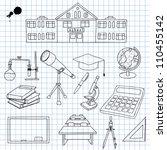 vector illustration of... | Shutterstock .eps vector #110455142