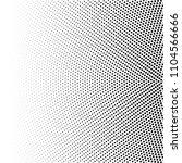 halftone of radial gradient... | Shutterstock .eps vector #1104566666