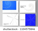 the minimalistic abstract... | Shutterstock .eps vector #1104575846