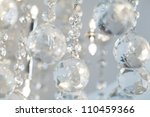 Lamp Crystal In Light Background