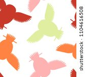 seamless vector pattern with... | Shutterstock .eps vector #1104616508