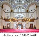 interior view of emir sultan... | Shutterstock . vector #1104617678