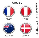 group c. shiny metallic icons... | Shutterstock .eps vector #1104621242