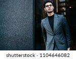 half length portrait of... | Shutterstock . vector #1104646082