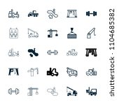lift icon. collection of 25... | Shutterstock .eps vector #1104685382