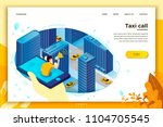 vector concept illustration  ... | Shutterstock .eps vector #1104705545