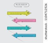 thin line minimal business...   Shutterstock .eps vector #1104712526