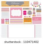 various elements for an e... | Shutterstock . vector #110471402