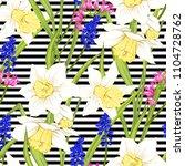 floral seamless pattern ... | Shutterstock .eps vector #1104728762