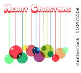 christmas background | Shutterstock .eps vector #110475506