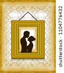 illustration of loving couple... | Shutterstock . vector #1104776432