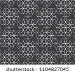 vector seamless pattern. modern ...   Shutterstock .eps vector #1104827045