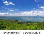 beautiful landscape at tagaytay ...   Shutterstock . vector #1104830816