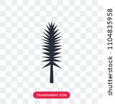 tall pine tree vector icon...   Shutterstock .eps vector #1104835958