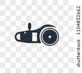electric saw vector icon... | Shutterstock .eps vector #1104852662