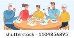 vector cartoon illustration of...   Shutterstock .eps vector #1104856895
