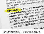 highlighted english word ... | Shutterstock . vector #1104865076