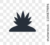 agave vector icon isolated on...   Shutterstock .eps vector #1104879896