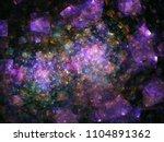 luxurious dark background with... | Shutterstock . vector #1104891362