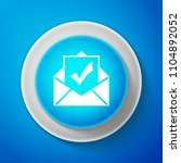 white envelope with document... | Shutterstock .eps vector #1104892052