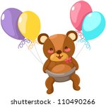 illustration of isolated baby... | Shutterstock . vector #110490266