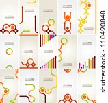 abstract vector layout design | Shutterstock .eps vector #110490848