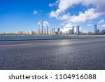 panoramic city skyline with... | Shutterstock . vector #1104916088