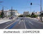 greece  athens  syntagma  royal ... | Shutterstock . vector #1104922928