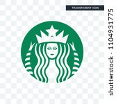 starbucks vector icon isolated...