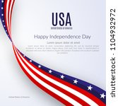 patriotic american background... | Shutterstock .eps vector #1104932972