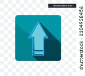 upgrade vector icon isolated on ...   Shutterstock .eps vector #1104938456