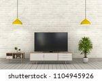 3d rendering of interior modern ... | Shutterstock . vector #1104945926