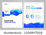 blue abstract background for... | Shutterstock .eps vector #1104947018