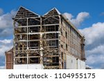 a large industrial structure at ... | Shutterstock . vector #1104955175