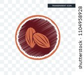 cacao vector icon isolated on... | Shutterstock .eps vector #1104958928