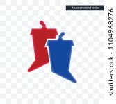 debate vector icon isolated on... | Shutterstock .eps vector #1104968276