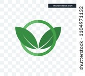 eco club vector icon isolated... | Shutterstock .eps vector #1104971132