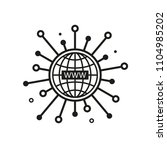 www vector icon  website symbol.... | Shutterstock .eps vector #1104985202