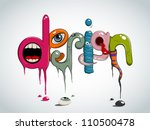 vector creative design | Shutterstock .eps vector #110500478