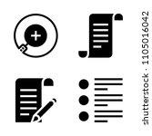 basic icon set. ui  web  pen...