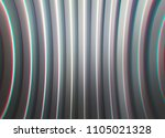 curved gray lines chromatic... | Shutterstock . vector #1105021328