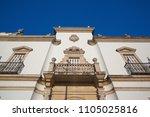 bullfight arena  plaza de toros ... | Shutterstock . vector #1105025816