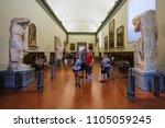 florence  italy   june  3  2018 ...   Shutterstock . vector #1105059245