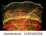 abstract interpretation of...   Shutterstock . vector #1105100258