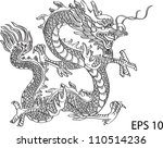 chinese style dragon statue...