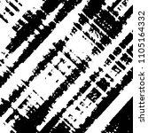 black and white grunge stripe... | Shutterstock . vector #1105164332